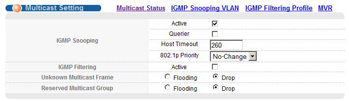 gs2200-8 icmp config