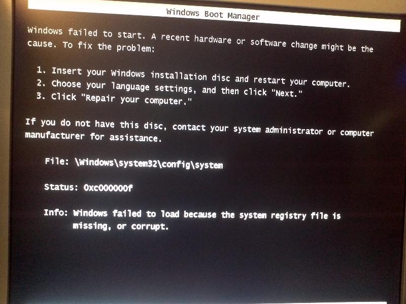 Error C000000F