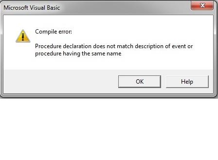 ADODC Error