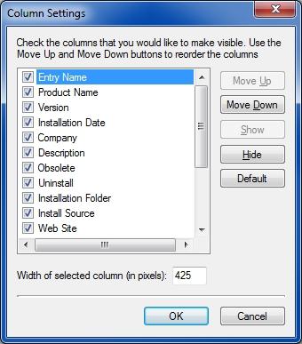 MyUninstaller columns1