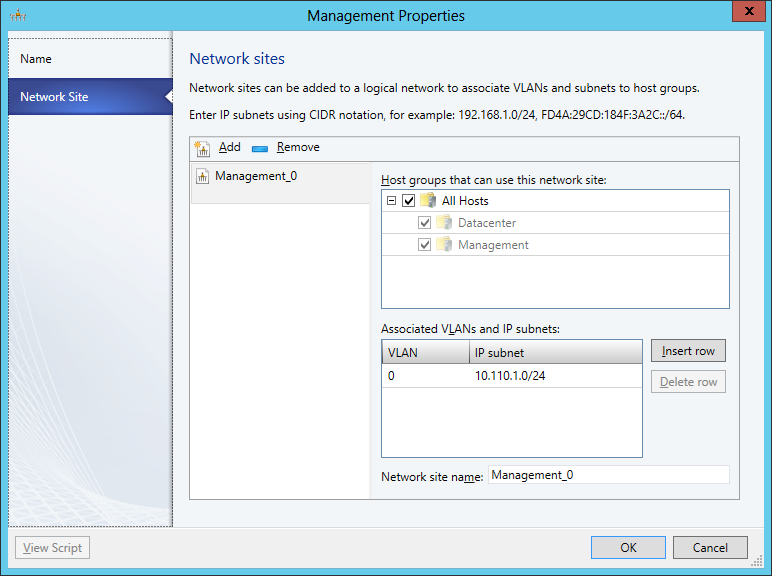 Management Network