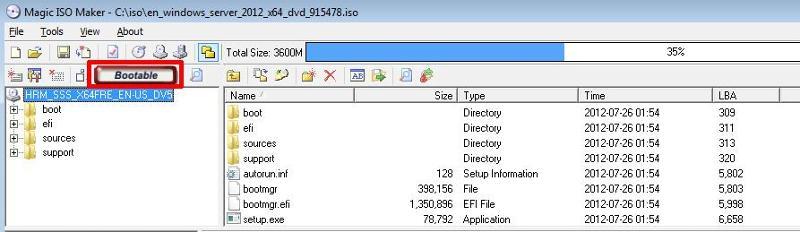 BOOTABLE CD-ROM/DVD-ROM