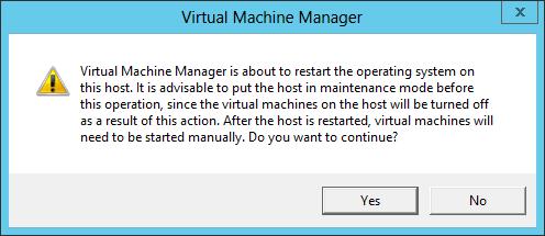 VMM Restarting OS