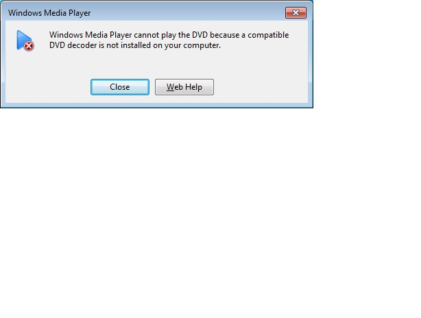 Windows Media Player with DVD on Win7 Starter