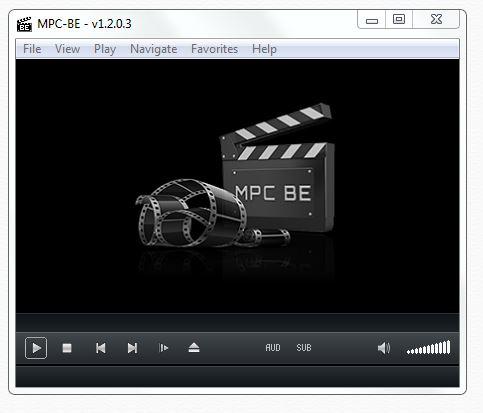 new MPC HC look