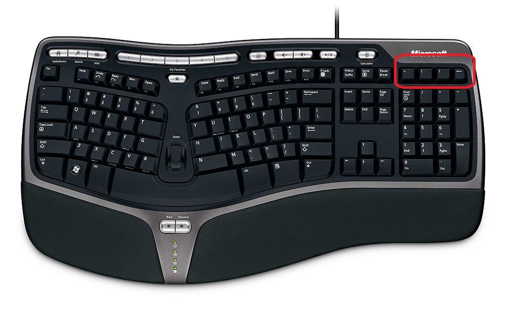 Howto: microsoft natural ergonomic keyboard 4000 enabling.