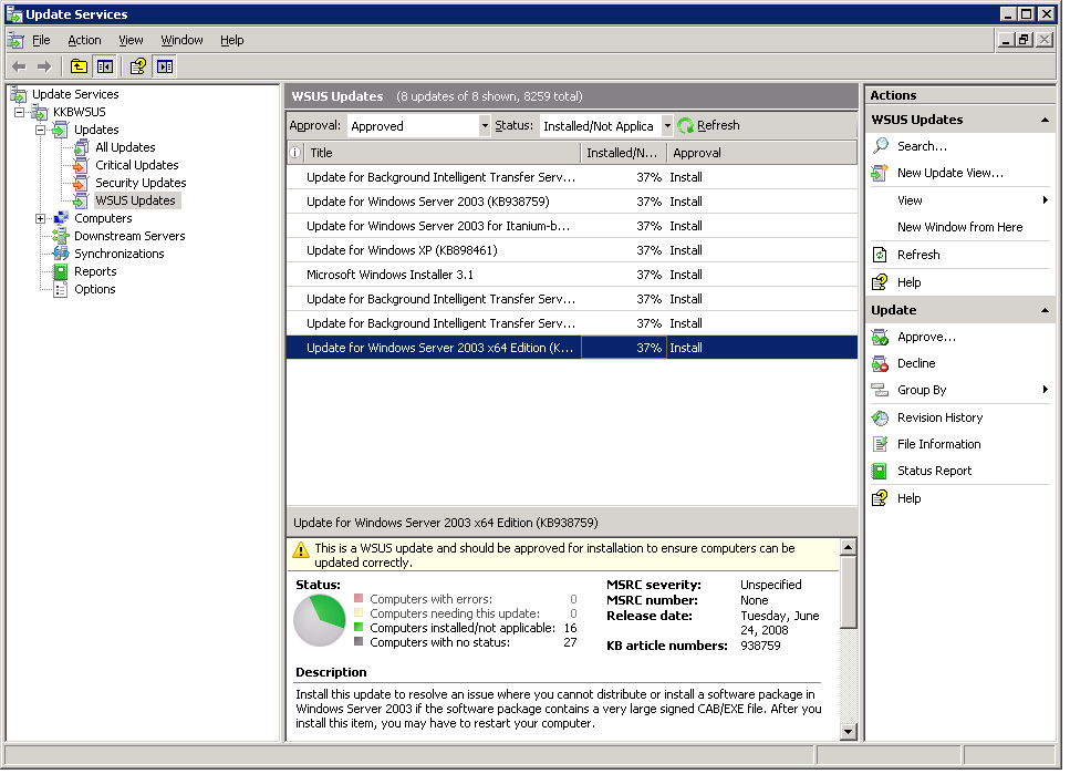 WSUS Solutions
