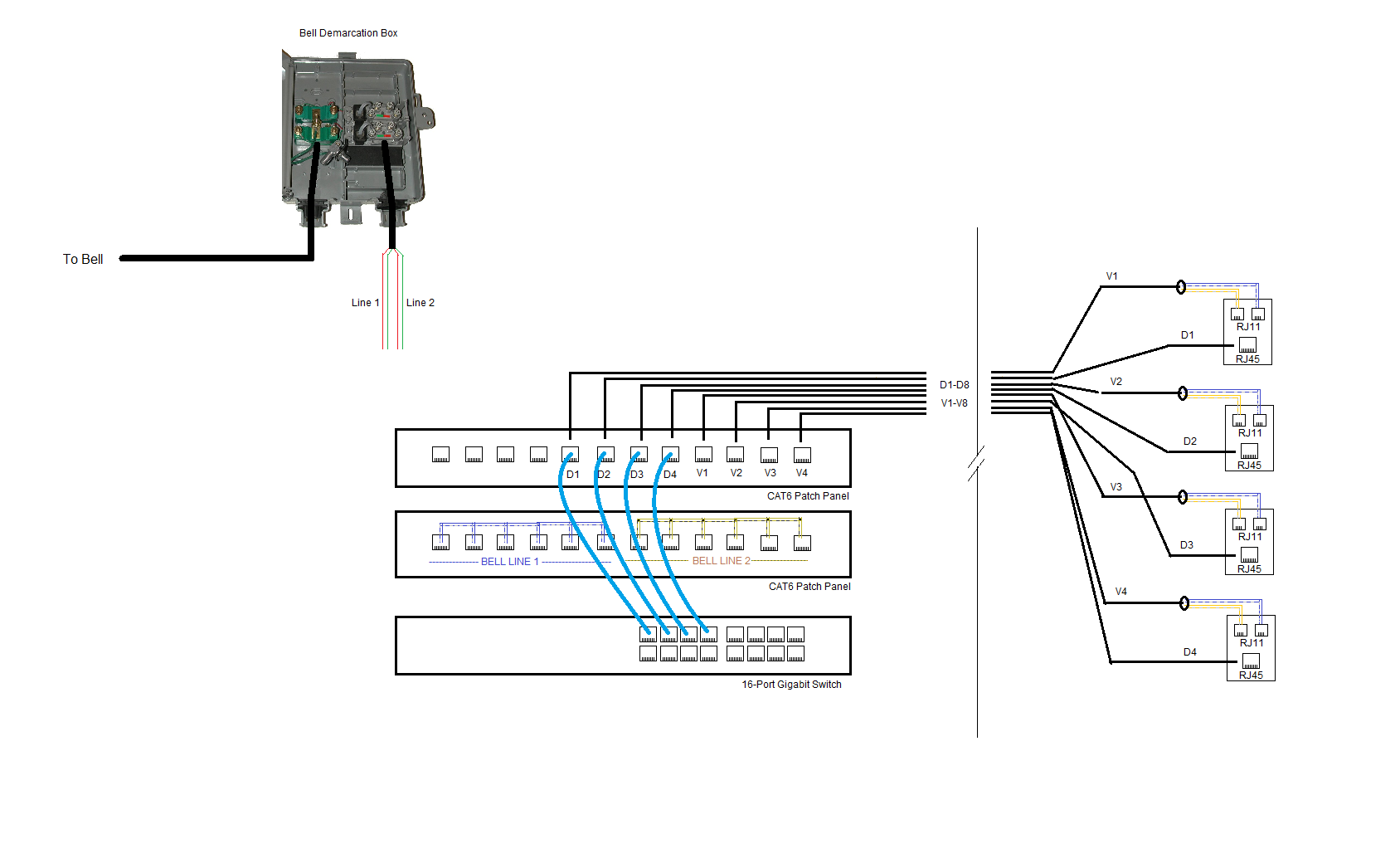 fiber optic patch panel wiring diagrams