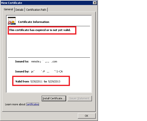 Solution How To Re Create Expired Certificate On Sbs2011