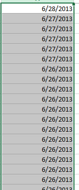 SOLUTION] Importing Excel CSV file with dates into