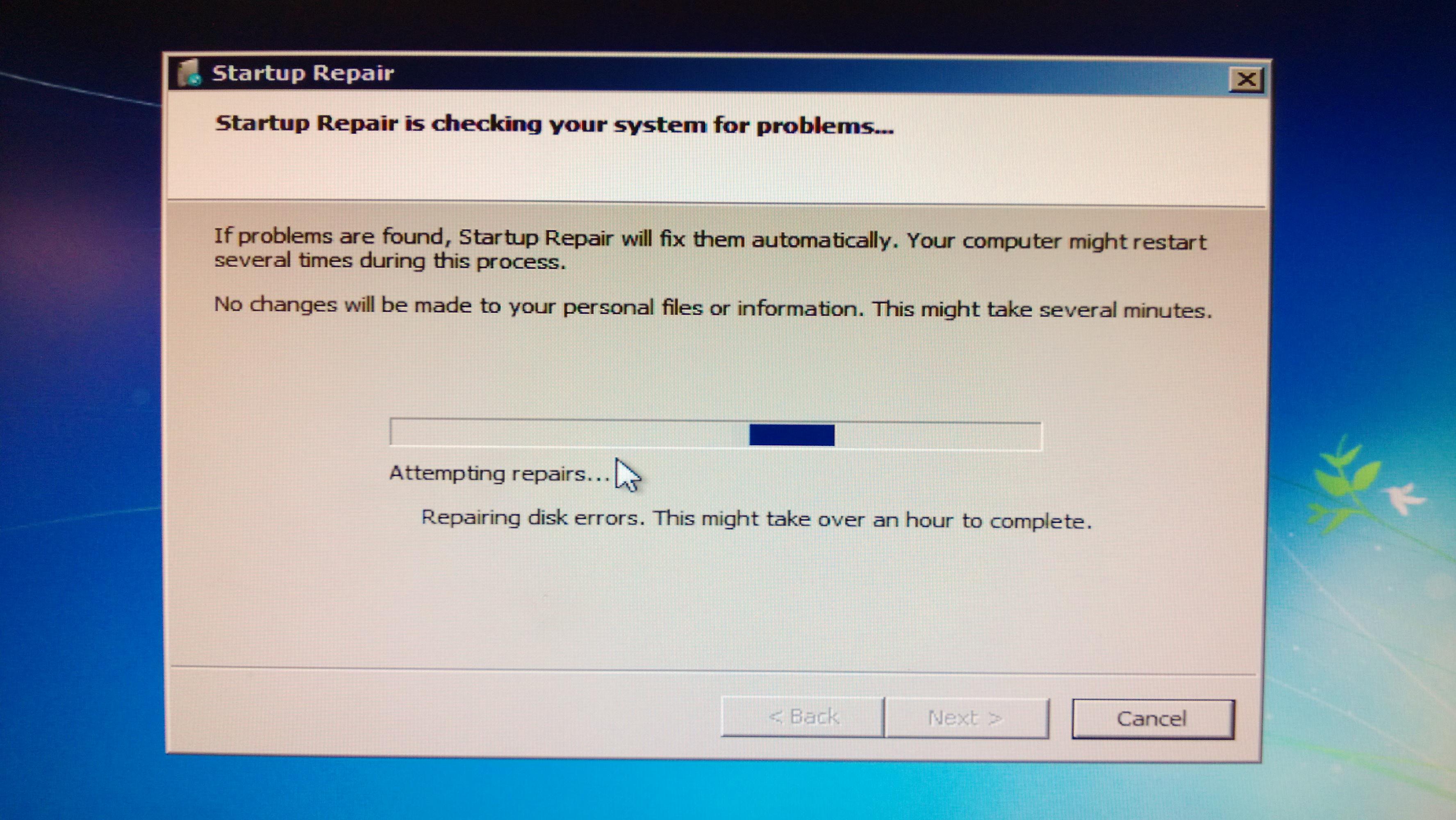 windows 7 professional repair disk
