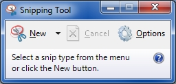 Snipping Tool after Cancel-Esc