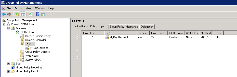 SOLUTION] Folder Redirect with Group Policy not working