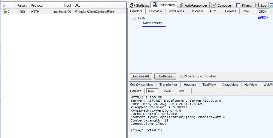 ajax posting to Controller - parameter is always null