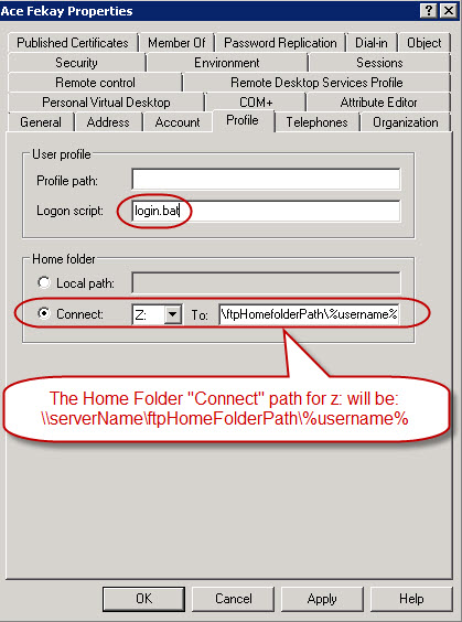 home folder