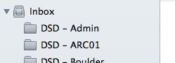 Empty Labels (Folders)