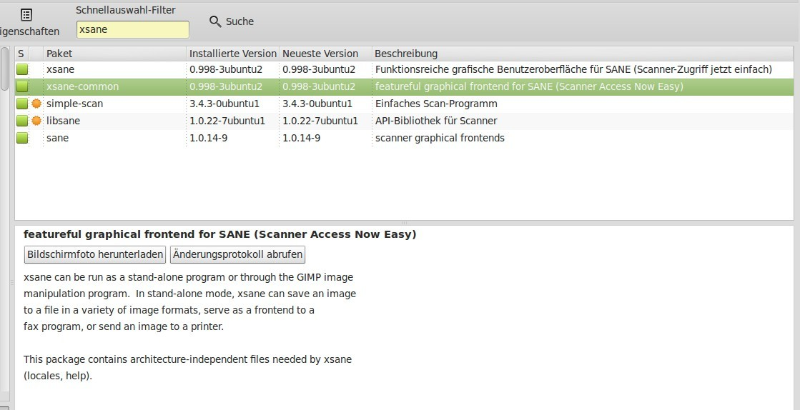 Linux Mint Maya: How to install Brother DCP135C scanner?