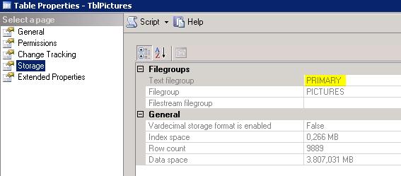 Textfilegroup