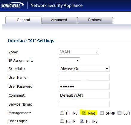 Enabling Ping on the WAN Interface will automatically create an inbound Access Rule. (See next image)