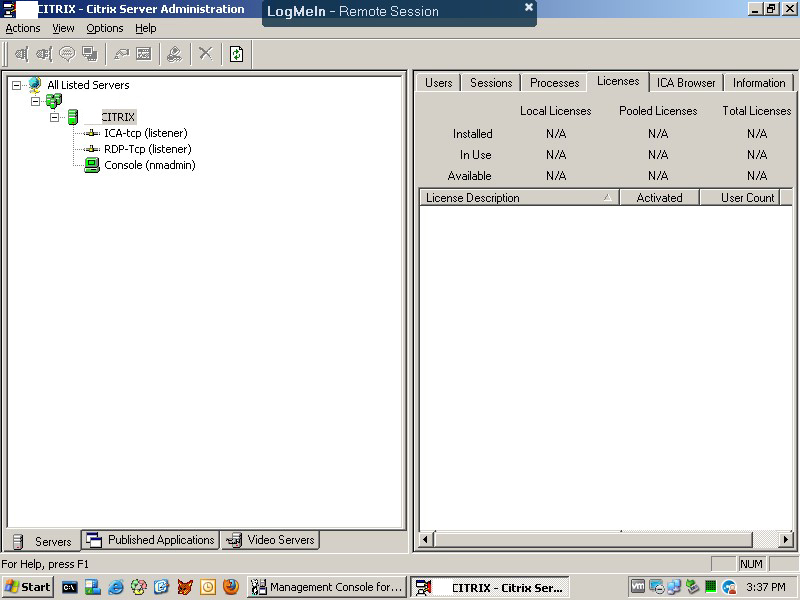 9-10-13 - Presentation Citrix server administraton