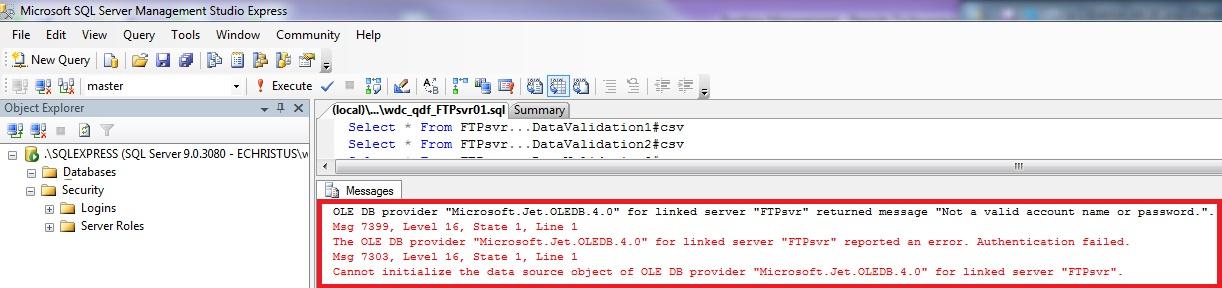 SOLUTION] SQL Server 2012 Linked Server Authentication
