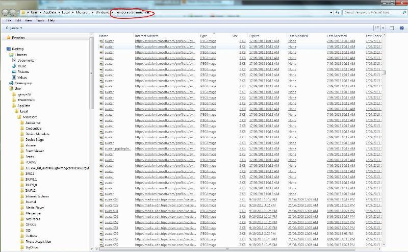 temporary internet files jpeg