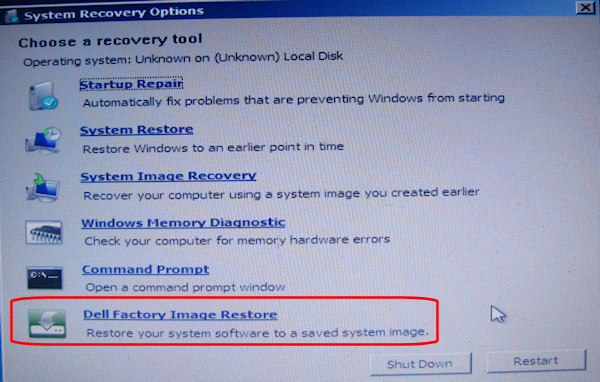 Dell - Win7 - Factory Restore (click for larger)