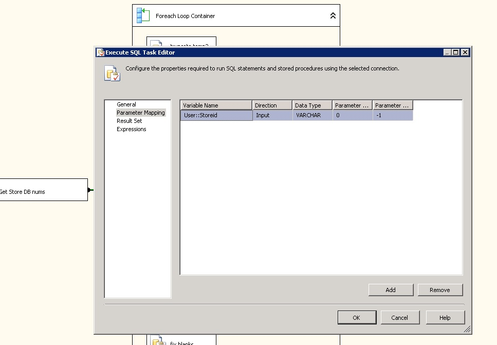 SOLUTION] Use variable in execute sql task