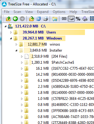 Fig. 8 Contents of the folder: Installer