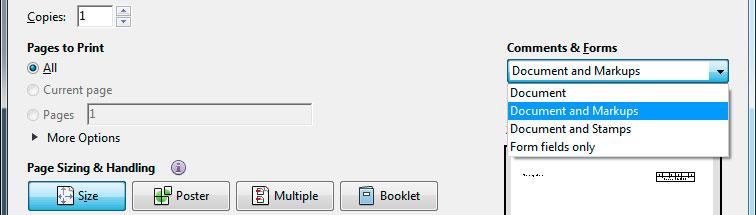 Adobe print settings