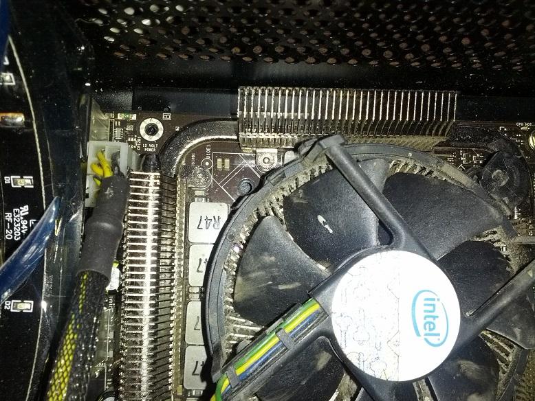 CPU Clip Missing