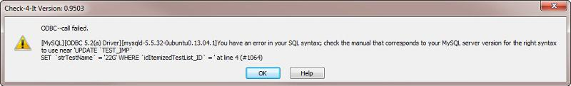 Access PassThru error