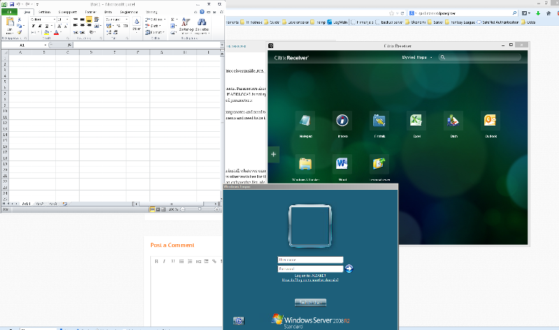 Screenshot of windows popup during app launch