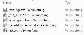 LNK files in Explorer