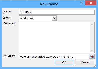 New Name Dialog Box