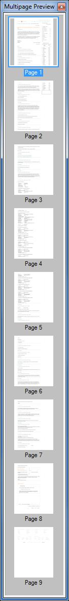 multi-page long horizontal