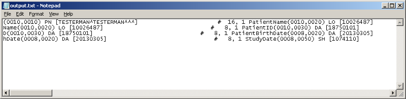 output.txt shown in notepad