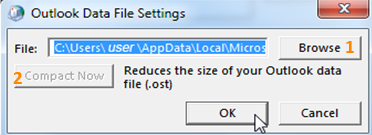 data file settings
