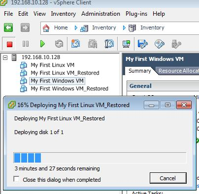 HOW TO: Backup (Export) and Restore (Import) virtual machines to