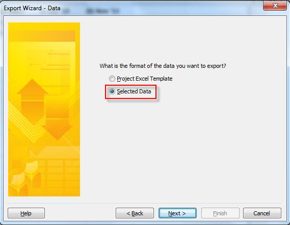 Excel export 2