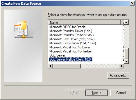 SQL Server Driver