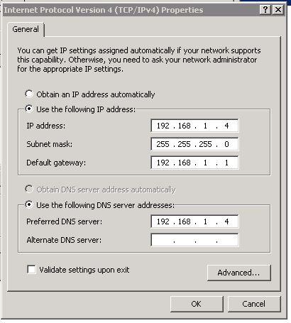 windows sbs 2011 dns server not responding