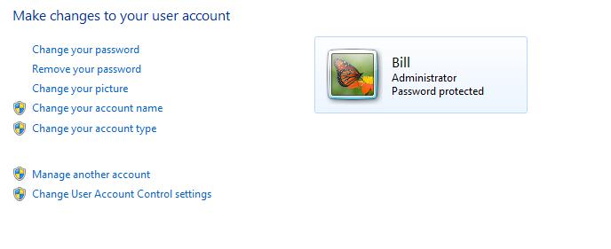 Bill = Admin