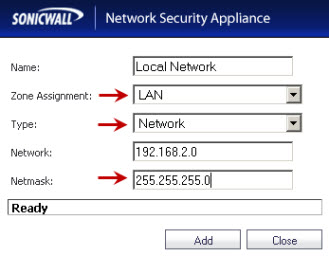 Local Network mismatch