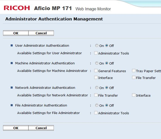 Ricoh Scan To Email Sender Has Not Been Specified