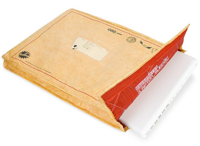 iPad in envelope