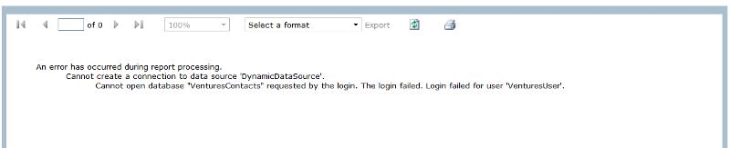 report error