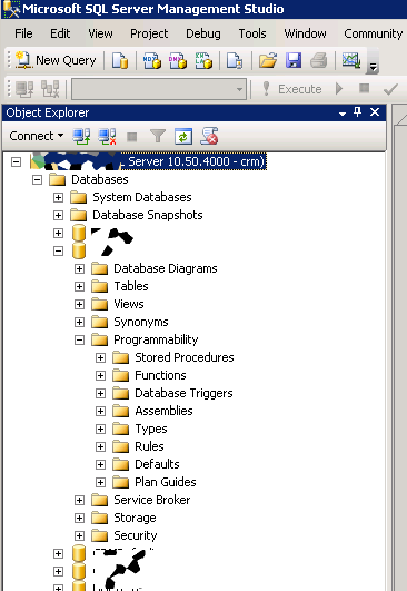 SQL Interface for SQL 2008 R2