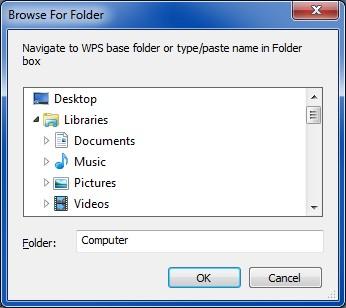 fixdates WPS folder