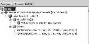 RAID 1 config snapshot